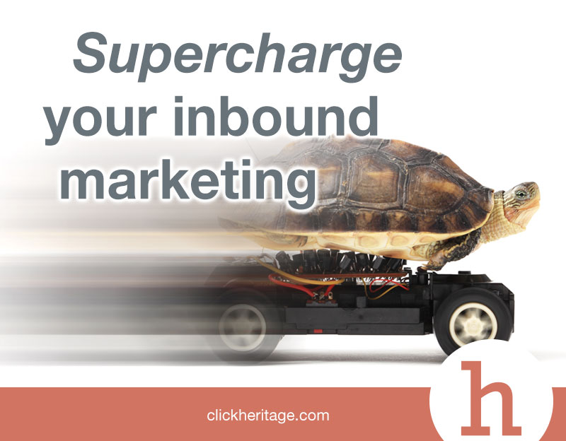 Supercharge your inbound marketing