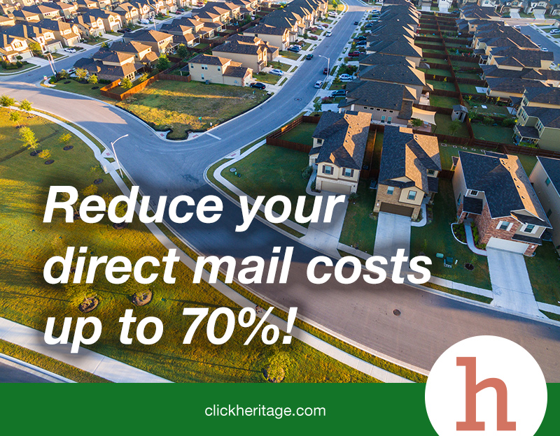 Reduce the cost of direct mail up to 70%