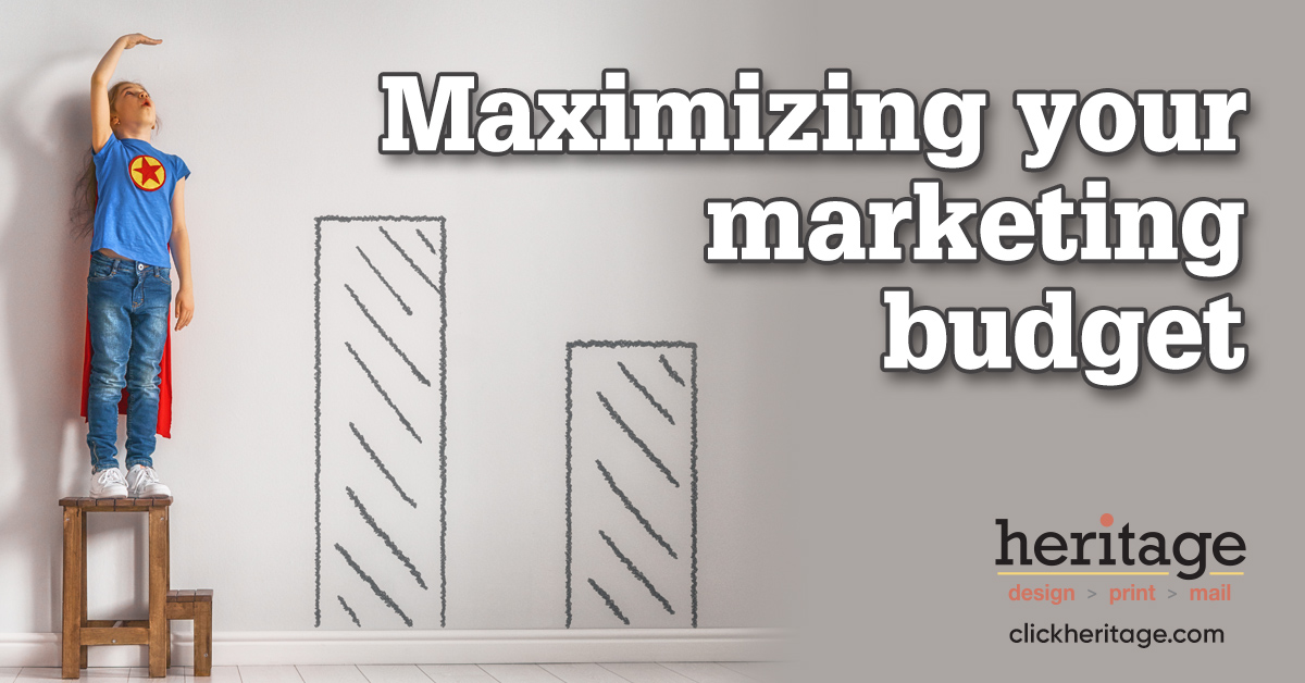 4 ways to maximize your marketing budget