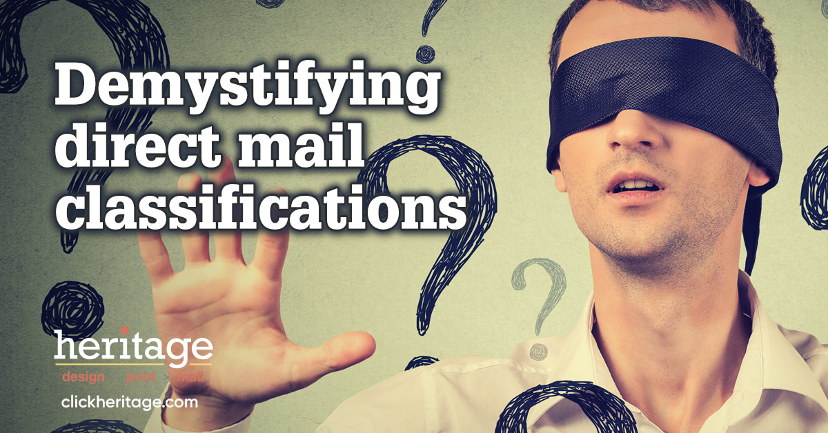 Demystifying direct mail classifications