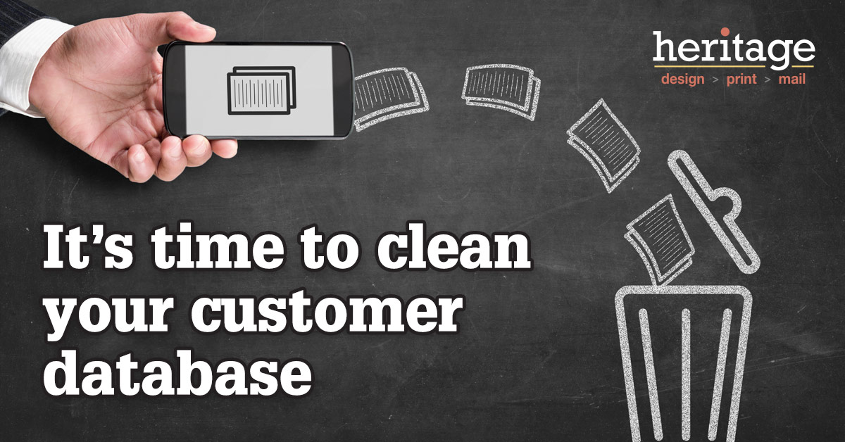 It's time to clean your customer database