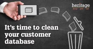 Clean Your Customer Database