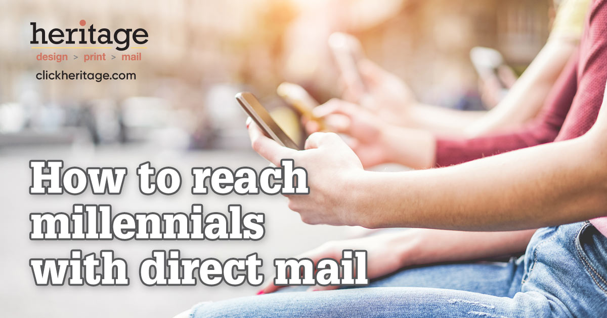 How to reach millennials with direct mail