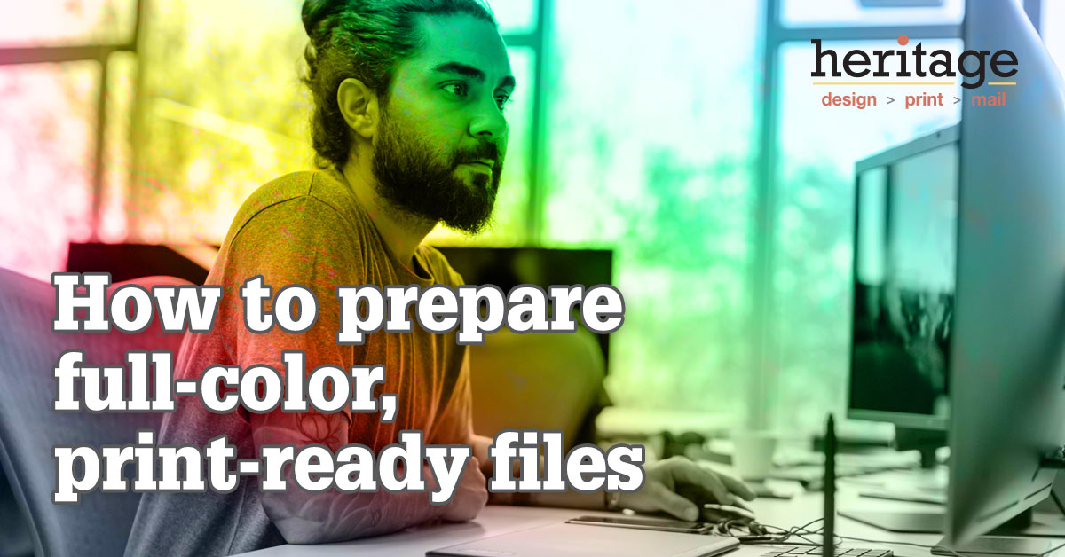 Print-ready files: CMYK vs. PMS