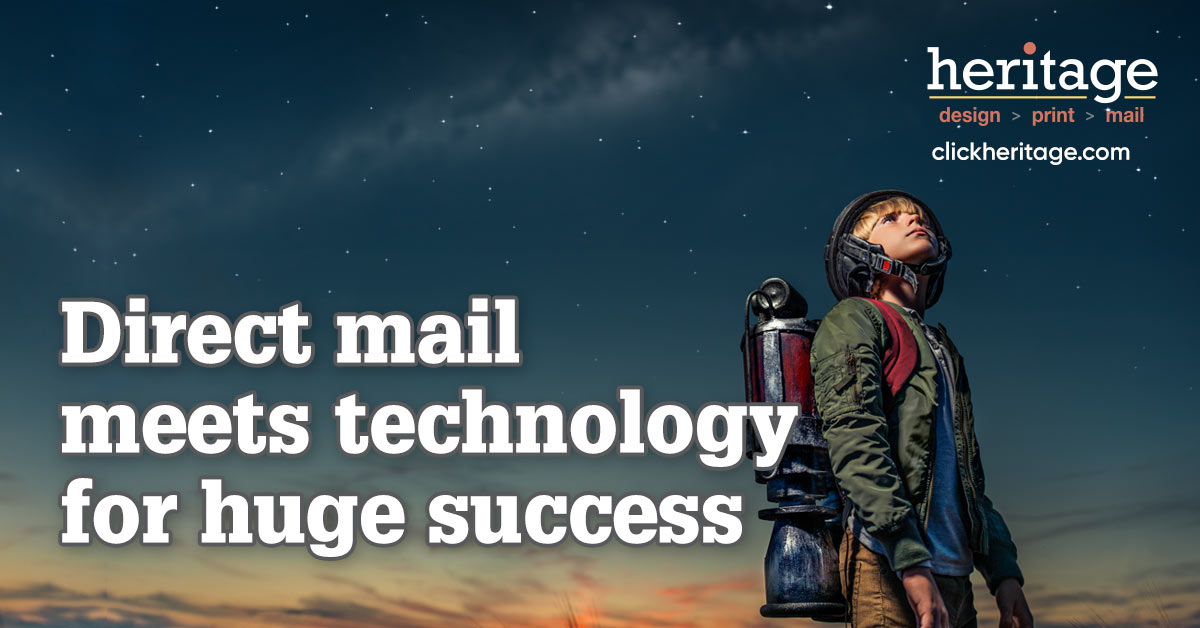 High Tech Firm Wins With Low Tech Direct Mail