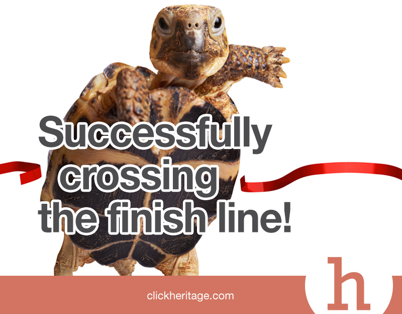 Cross The Finish Line