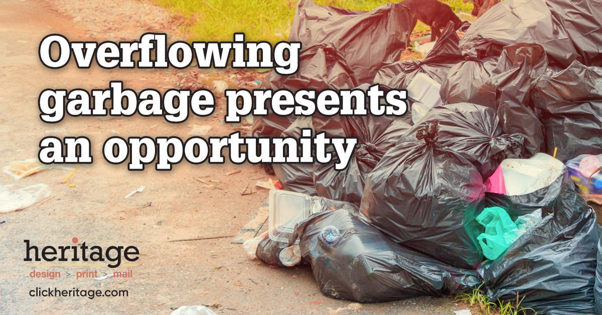 Overflowing Garbage