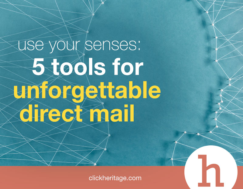 Five Senses In Direct Mail Heritage