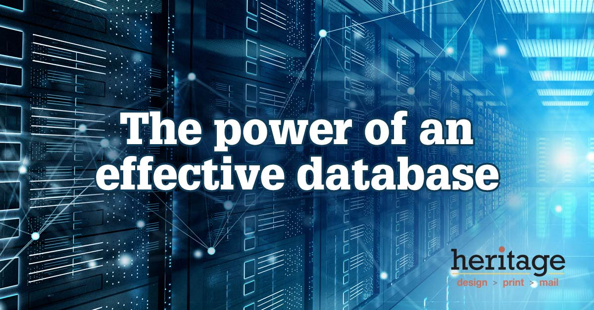 The Power Of An Effective Database